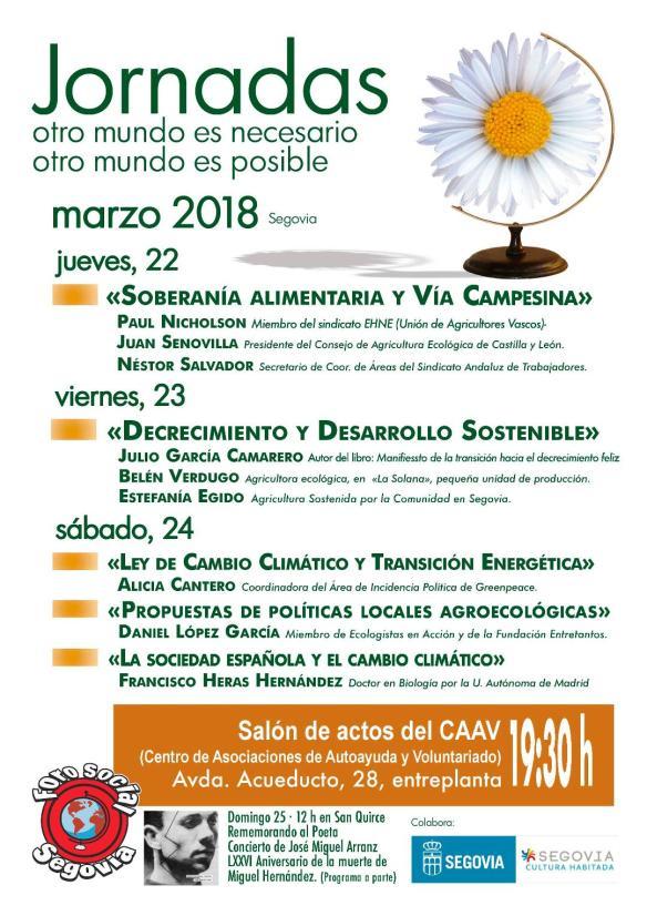 Jornadas Segovia 2018